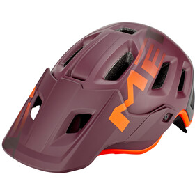 MET Roam Helm matt garnet/orange